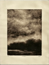 L  U  I  S   C  O  L  A  N Monotypes monotype on Rives Heavy Weight paper