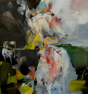 LINDA VERKLER Horse of the Picador Oil on linen