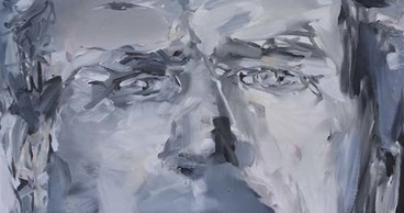 LINDA VERKLER No Glasses for the Mind Acrylic on canvas