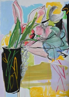 LINDA VERKLER Drawings and Mixed Acrylic on paper