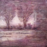 Paintings The Nature of Change (purple)