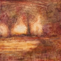 Paintings The Nature of Change (red)