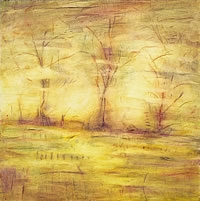 Paintings The Nature of Change (yellow)