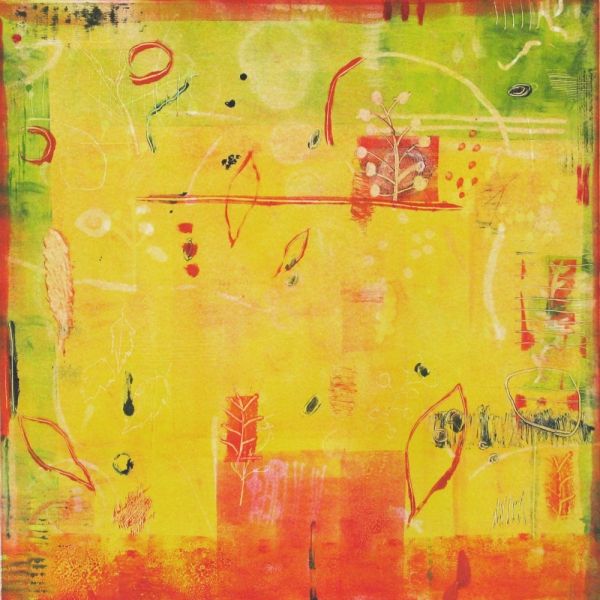 Monotype  2000-2008 monotype (yellow room)