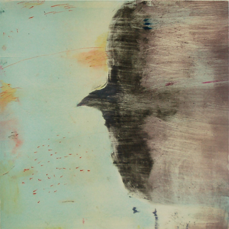 Monotype Crows A Murder of Crows no. 75