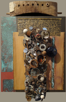 Assemblage mixed media