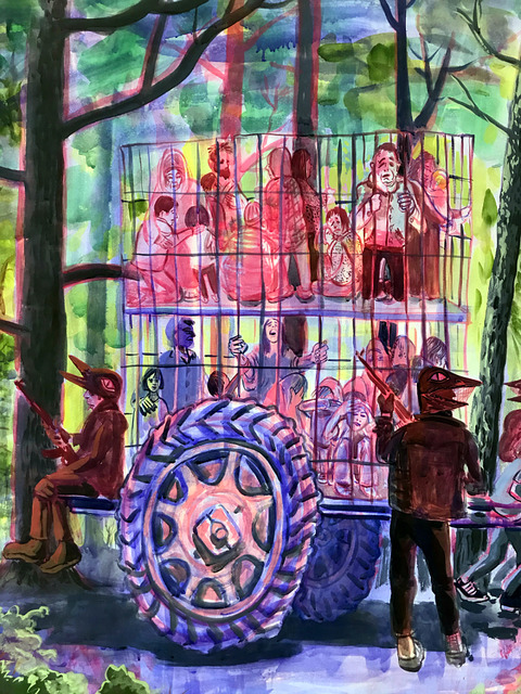 2021-2020 Caged - detail
