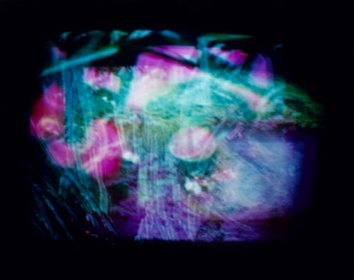 M. Apparition T. V. Eye chromogenic print