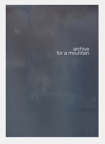 Marc Handelman Archive for a Mountain 2010-11