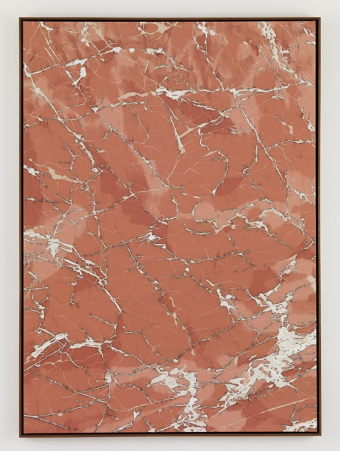 Marc Handelman Geological Sketches at Home and Abroad Oil on canvas, Mahogany frame
