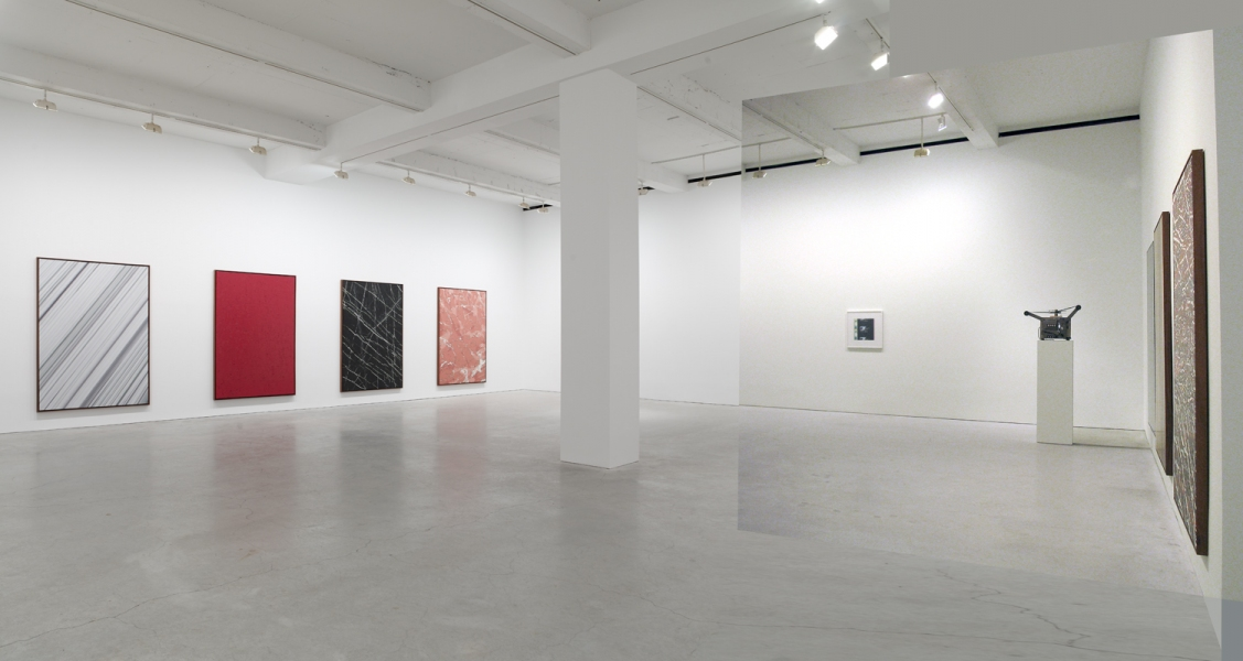 Marc Handelman Geological Sketches at Home and Abroad Installation view (digital composite)