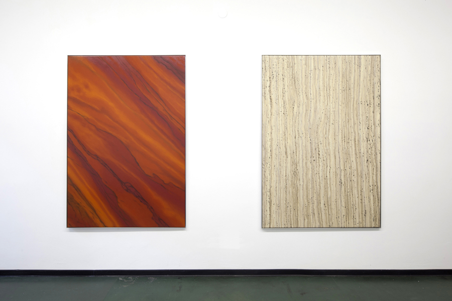Marc Handelman Continuous Grounds Installation view