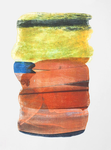 Marcy Rosenblat Monotypes archival ink on paper