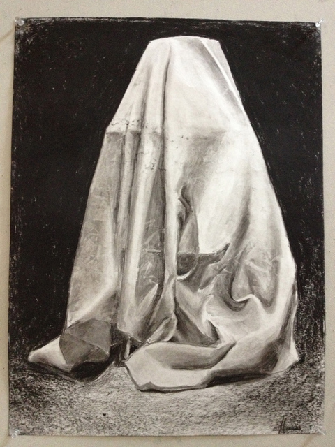MARGARET MURPHY Drawing and Composition I charcoal on paper