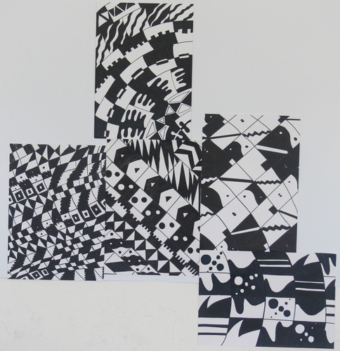 Maria Katzman Student Art Work (2 pages) Marker