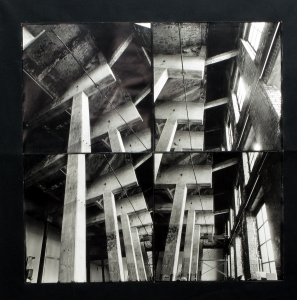 Maria Levitsky  Montages and Recombinations Silver Gelatin Print mounted on black canvas