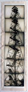 Maria Levitsky  Montages and Recombinations silver gelatin print mounted on canvas