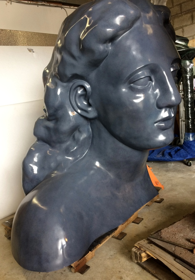 Foundry Work Genesis woman by Robert St Croix