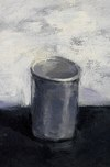Still life oil on paper