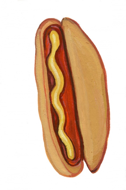 ICONOGRAPHICS PROJECT Hot Dog
