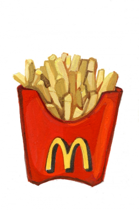 ICONOGRAPHICS PROJECT McDonald's French Fries