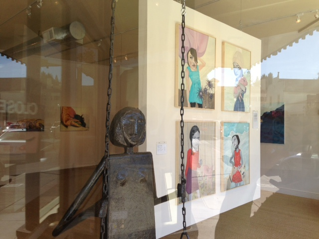 "Installations ""New Voices"" Bergelli Gallery, Larspur  CA"
