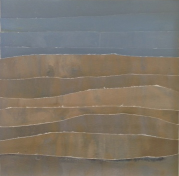 Mer & Terre (oil collages) Coastal Dunes