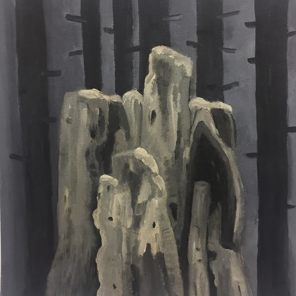 Grisaille Stumps I-XV Stump IX