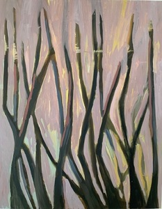Marie Van Elder Woodland oil on linen