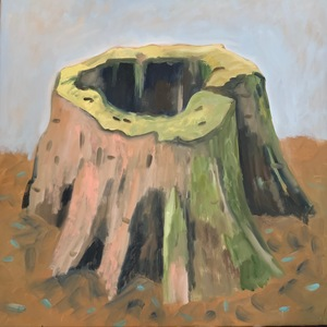 Untitled (pink stump)