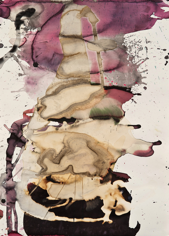 Marilyn Levin Works on Paper Mixed Media on Rag Paper
