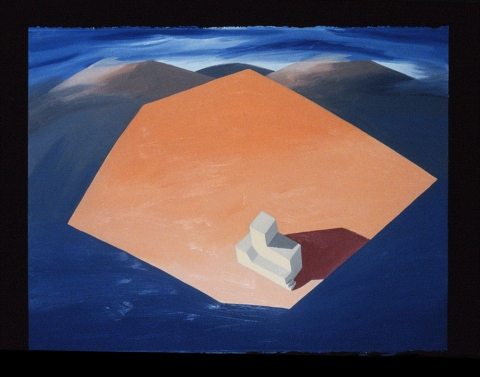 Marina Cappelletto 1987-1989 oil on paper