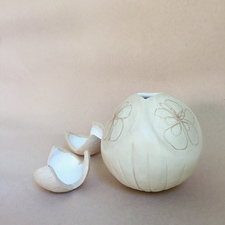 Marion Engelbach PODS Glazed Clay