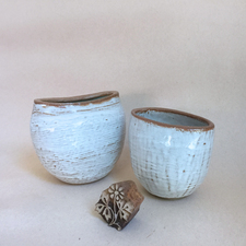 Marion Engelbach VESSELS Glazed Clay