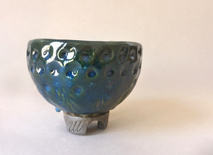 Origins footed bowl