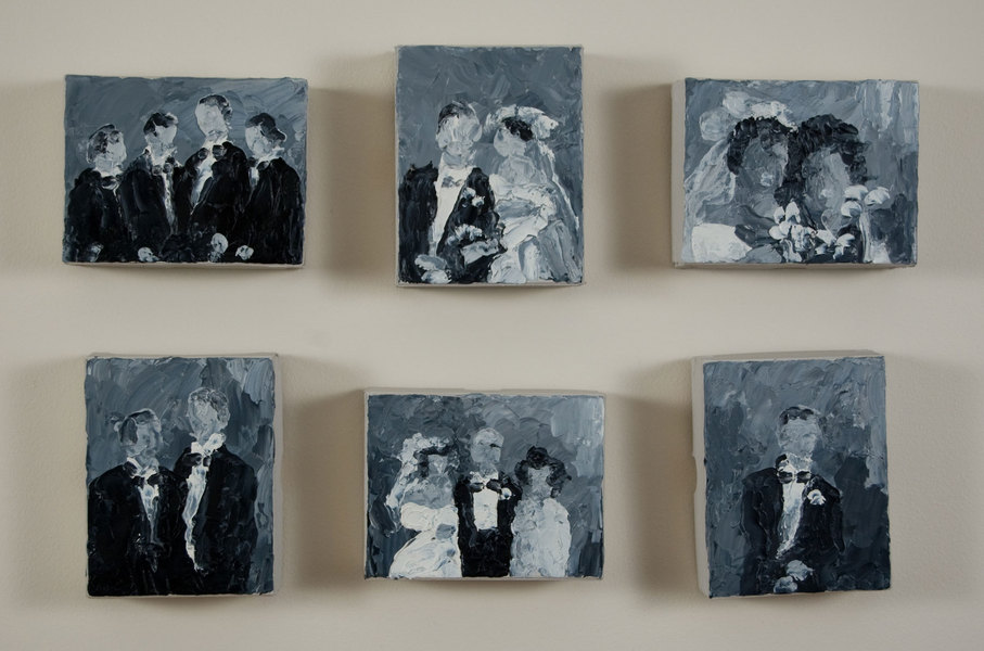 Small Paintings The Wedding Party