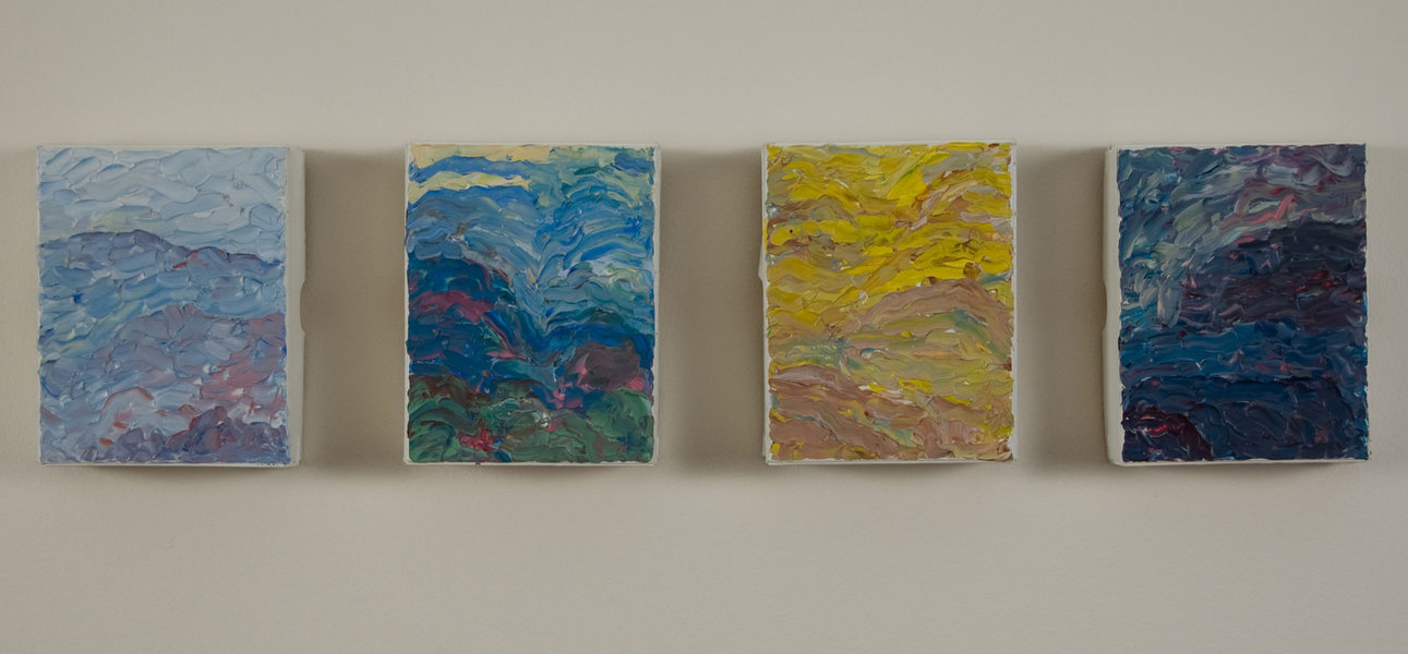 Small Paintings Four Landscapes