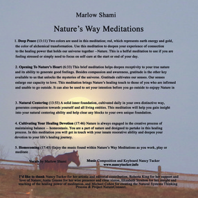 Marlow D.J. Shami Meditation CD