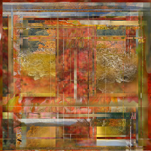 Marlow D.J. Shami Abstract Work Digital Photographic Composite