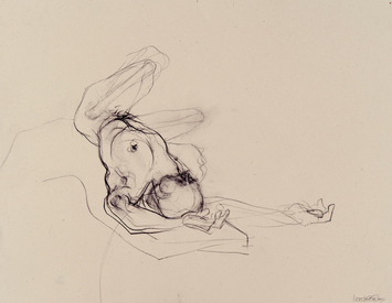 Marsha Gold Gayer Sketches charcoal on paper