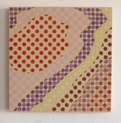 Marsha Goldberg Small Paintings (Niqqudot) 2015-16 oil on wood panel