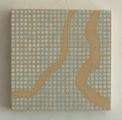 Marsha Goldberg Small Paintings (Niqqudot) 2015-18 oil on wood panel