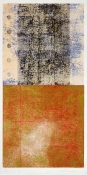 Marsha Goldberg Works on paper 2004-2005 woodblock monoprint with colored pencil, india ink, and graphite