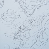 Marsha Goldberg Smoke Rises: ink drawings 2012-14 ink on gessoed canvas