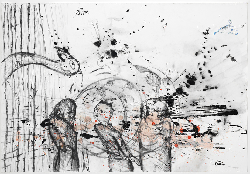 Works on Paper 2015-19 Altercation