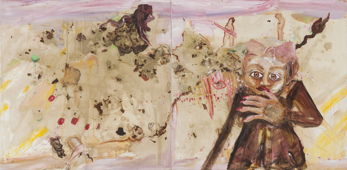 Paintings With Onionskin Dye 2015-2019 Rosy Fingered Dawn and a Long Way From Home(r)