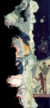 About Palimpsests (Click to open)  Oil Paint on Canvas