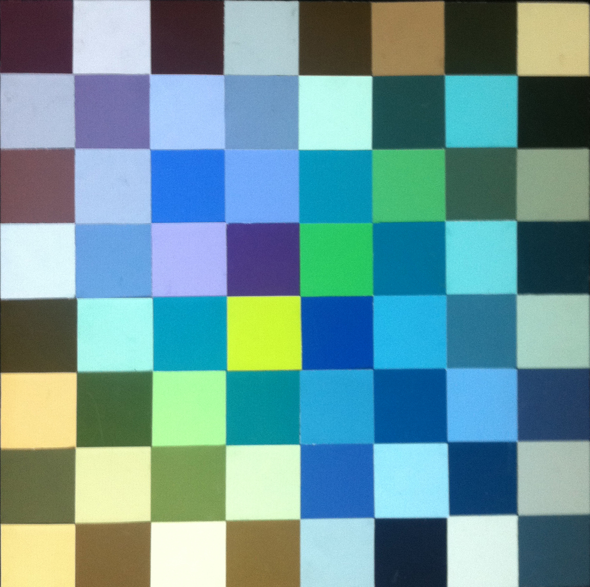 Color Theory-Saturation Studies