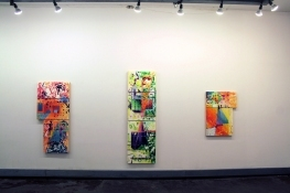Vincent Longo/Martinez-Riddle.Sideshow.Gallery North Wall Front Room (Right)