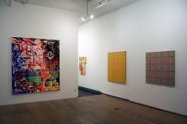 Vincent Longo/Martinez-Riddle.Sideshow.Gallery West Wall Rear Room